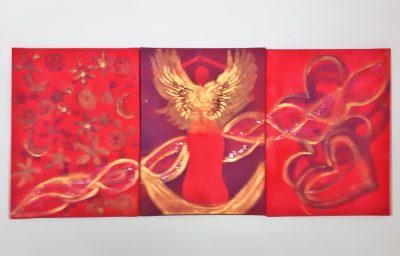Triptychon Aufstieg