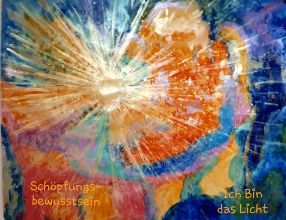 """Gemälde von Christina """"ICH Bin das Licht"""""""